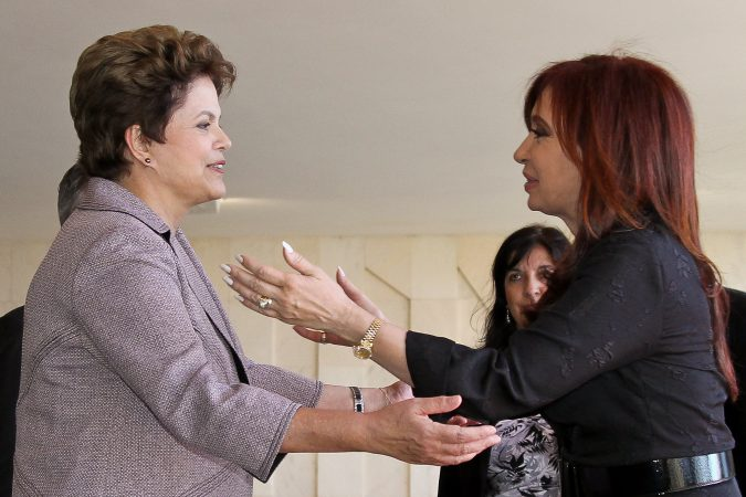Bras'lia-DF, 29/07/2011.  Presidenta Dilma Rousseff recebe a Presidenta da Repœblica Argentina, Cristina Fern‡ndez de Kirchner,  para almoo no Pal‡cio Itamaraty. Foto: Roberto Stuckert Filho/PR.