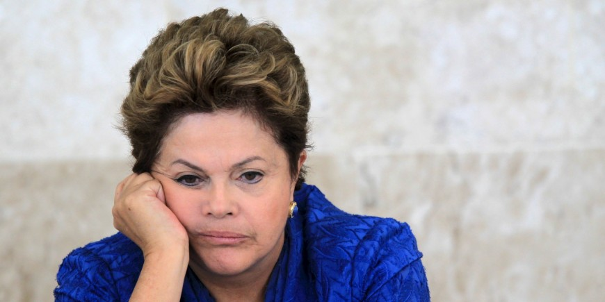 """Brazil's President Dilma Rousseff attends a meeting of the Brazilian Forum on Climate Change in Brasilia June 5, 2013.      REUTERS/Ueslei Marcelino/Files.        SEARCH """"Files Rousseff"""" FOR ALL IMAGES"""