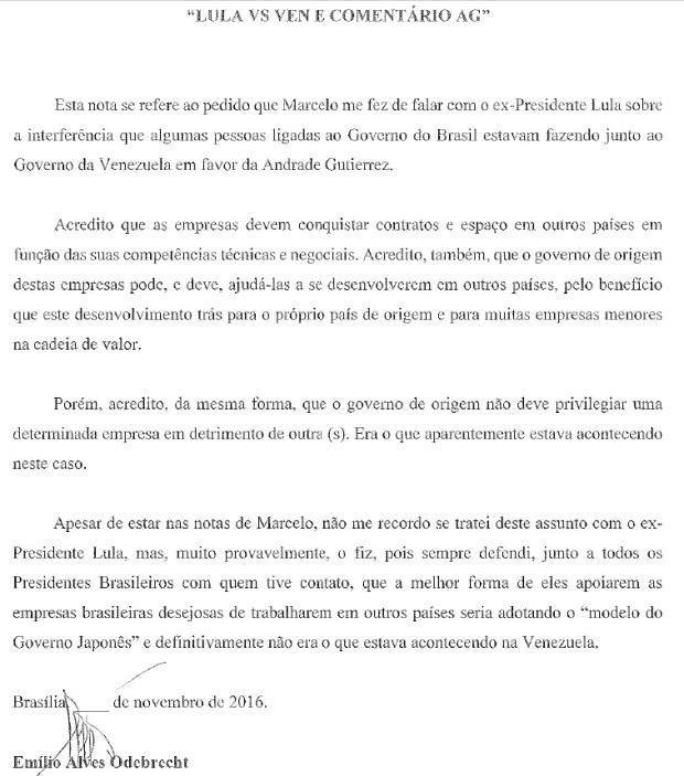 EMILIO LULA VS VENEZUELA